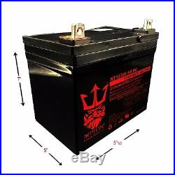 12V 35Ah Revolution Mobility Liberty 312 Power Wheelchair Replacement Battery