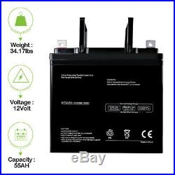 12V 55Ah Battery Invacare 3G Storm Arrow Electric Wheel Chair Brand Product