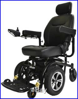 18 Inch Seat Folding Motorized Wheelchair Power Mobility Chair Battery Operated