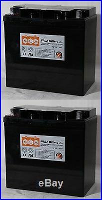 2 Pack 12V 55Ah Battery for Electric Mobility Rascal P327/XL NEW FAST SHIPPING