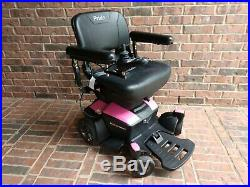 2017 GO-CHAIR Pride Mobility Electric Powerchair New Batteries See Video