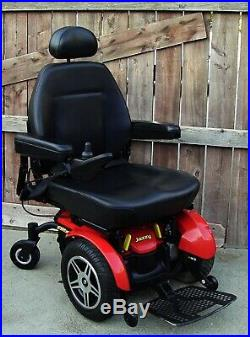 2018 Pride Mobility Jazzy Elite HD POWER WHEELCHAIR WITH NEW Batteries 450LB