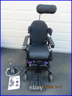 2018 Quantum Q6 Edge 2.0 Wheelchair Power Tilt Reclines Legs Elevate with Charger