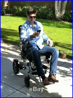 2019 All Terrain Fold And Travel Portable Collapsible Battery Power Wheelchair