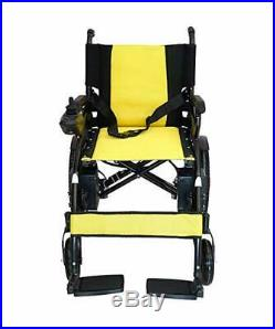 2019 Collapsing Foldable Electric Power Wheelchair Premium Lithium Battery