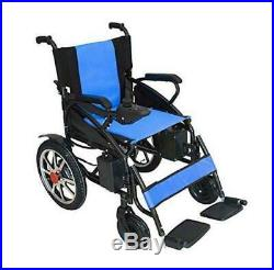 2019 New Comfy Go Electric Lithium Battery Power Wheelchair (Blue) Model 6011