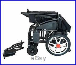 2019 Premium Foldable Power Scooter Wheelchair Lithium Battery
