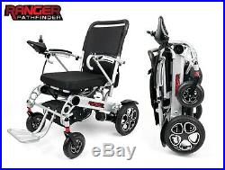 2019 Upscale Exclusive Foldable Lightweight Battery Powered Electric Wheelchair