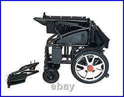 2020 Upgraded Air Travel Lightweight Lithium Battery Power Scooter Wheelchair