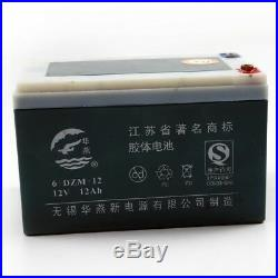 24V 12AH 6DZM12 Battery 4 Electric/Wheelchair Scooter /bikes Quad ATV/Buggy Cart