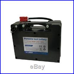 24V 12Ah 7S4P Li-ion battery electric wheelchairs Replaceable lead-acid