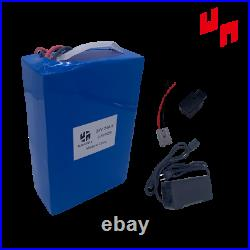 24V 24AH EBIKE Lithium LiFePO4 Battery Charger Electric Wheelchairs Bicycle 500W