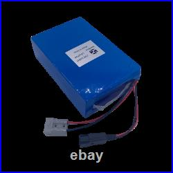 24V 24Ah EBIKE LiFePO4 Lithium Battery BMS Electric Bicycle Wheelchair 500W 350W