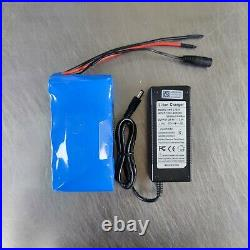 24V 6Ah li-ion battery + charger electric bike scooter wheelchair e-bike bicycle