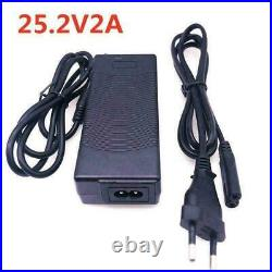 24v 30ah Ebike Battery Pack For Electric Motor Bike Wheelchair Cropper + Charger