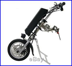 250W 36V Electric Tractor Handcycle Bike Attachment For Wheelchairs With Battery