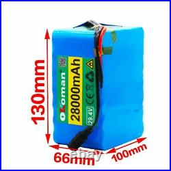 29.4V 28Ah 7S5P Li-ion Battery Volt Rechargeable for wheelchair electric bicycle