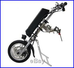 36V 250W Electric Tractor Handcycle Bike Attachment For Wheelchairs With Battery