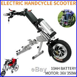 36V/350W 10Ah Attachable Electric Handcycle Scooter Handbike Wheelchair