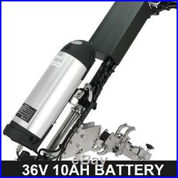 36V 350W Electric Handcycle Wheelchair DIY Conversion Kits with 10AH Battery