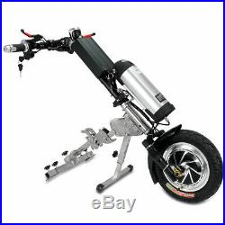 36V 350W Electric Tractor Handcycle Bike Attachment For Wheelchairs With Battery