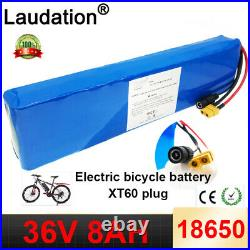 36V Electric Bicycle Battery 8Ah Rechargeable for electric scooter wheelchair