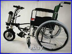 36V350W12 x 2.125 Wheel Electric Attachable Handcycle for Wheelchair GEN2