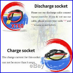 48V 20AH Ebike Battery For 1000W 1500W 1800W Electric Scooter Trike Wheelchair