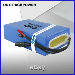 48V 20AH Li-ion Battery Waterproof PVC for 1000W Electric Scooter Wheelchair US