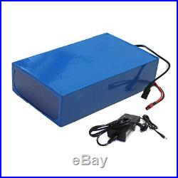 48V 20AH Lithium Ion BATTERY Pack DIY Cable w' Charger for Electric Wheelchair