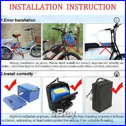 52V 20Ah Lithium Battery Pack Electric Wheelchair Scooter Ebike for 1500W Motor
