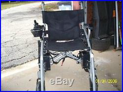 6011 New Comfy Go Electric Wheelchair Foldable Lightweight Heavy Duty battery