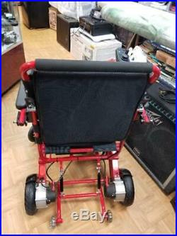 AIR HAWK Light Power Wheelchair Lithium-Ion with Extra Battery BRAND NEW