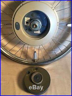 ALBER E-Motion Power Assist 24 WHEELCHAIR WHEEL M12 + 24v Battery NO CHARGER