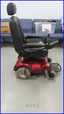 ActiveCare Medical Power Wheelchair (Red) New Batteries WithCharger