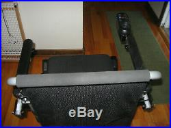 Air Hawk Brand Light Weight Electric Portable Wheelchair includes 2 batteries