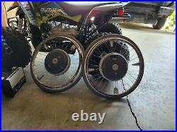 Alber Emotion Power Wheels with batteries and charger (read description)