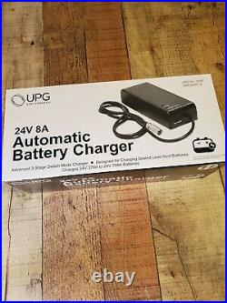 Automatic Battery Charger for Power Wheelchairs 24 Volt 8 Amp NEW
