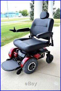 Bariatric power chair Jazzy 1450 pristine unit new 75 amp batteries mint cond
