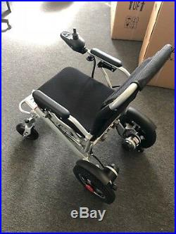 Battery Operated Wheelchair 2018 New Lightweight Comfy Go Lithium Power Grey