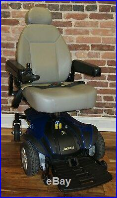 Blue Pride Jazzy Select Elite Power Chair With Brand New Batteries & Pivot Seat
