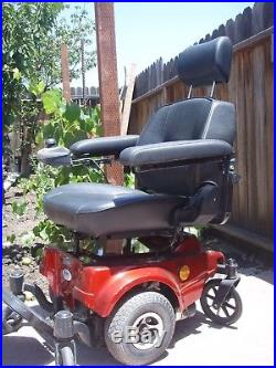 CTM HS-2800 Front Wheel Drive Electric Power Chair Red New Batteries Reliable