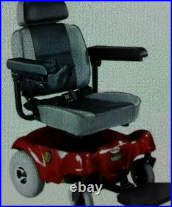 CTM HS-2800 Power Wheelchair RWD Wheel Chair Red Pre-owned New Batteries