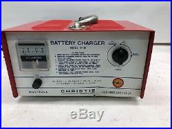 Christie Electric Wheelchair Portable Battery Charger 24 VOLT 8 AMP MDL# 248A