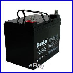 Compatible Wheelchair Battery for Electric Mobility Rascal Scooter 2 pack
