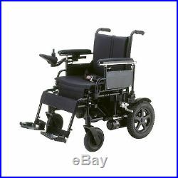 Drive Medical Cirrus Plus Folding Power Wheelchair with Footrest and Batterie