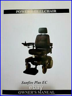 Drive Medical Sunfire Power Wheelchair with 20 Seat New Batteries Used 1 Month