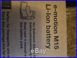 E-Motion M15 Wheelchair batteries new in boxs