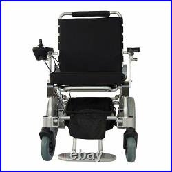 EZ Lite Cruiser DX-12 Electric Foldable Wheelchair with15Ah Battery & Accessories