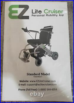 EZ Lite Cruiser Deluxe Regular DX10 with Extra battery and Accessories